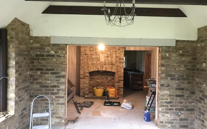 Garden room staplehurst kent prime plastering for Garden rooms kent